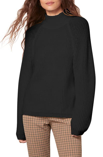 Cupcakes And Cashmere Griffith Sweater In Black