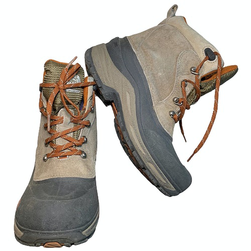 Pre-owned The North Face Suede Ankle Boots