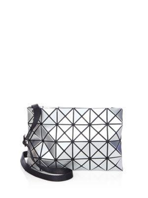 7a203de92d Bao Bao Issey Miyake Mini Lucent Basic Messenger Bag In Silver ...