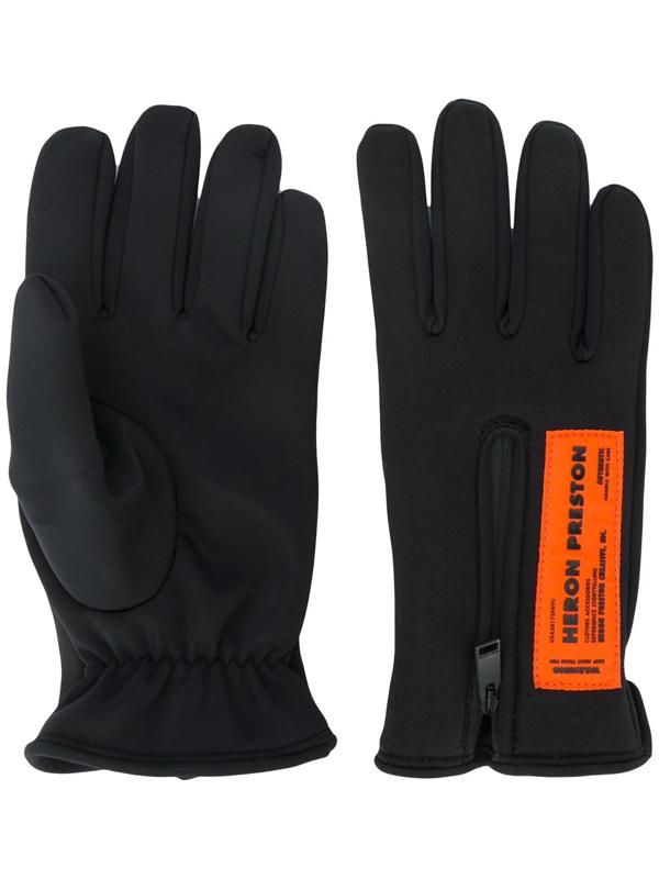 Heron Preston Hp Neoprene Gloves Black