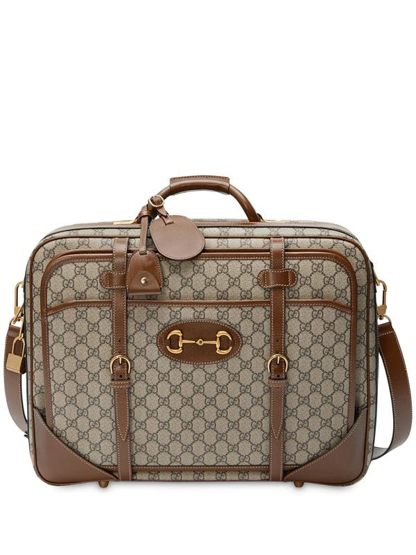 Gucci 1955 Horsebit Suitcase In Brown