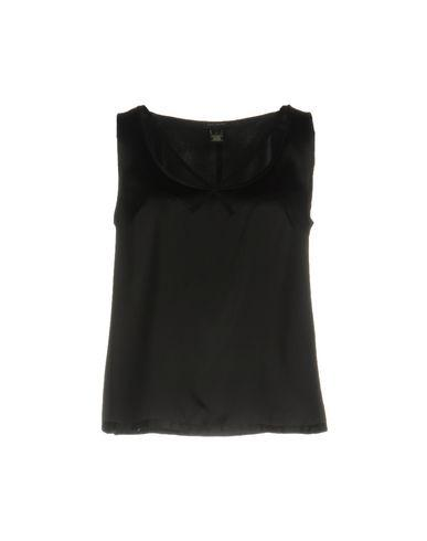 Marc Jacobs Silk Top In Black