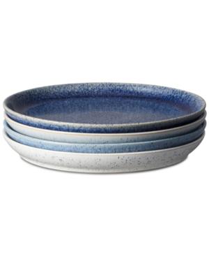 Denby Studio Blue 4-pc. Coupe Dinner Plate Set