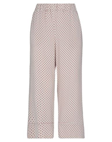 Liviana Conti Cropped Pants & Culottes In Sand