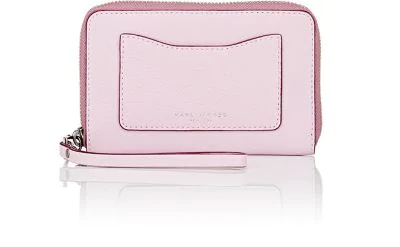 Marc Jacobs Recruit Leather Iphone&Reg; Wristlet In Light Purple