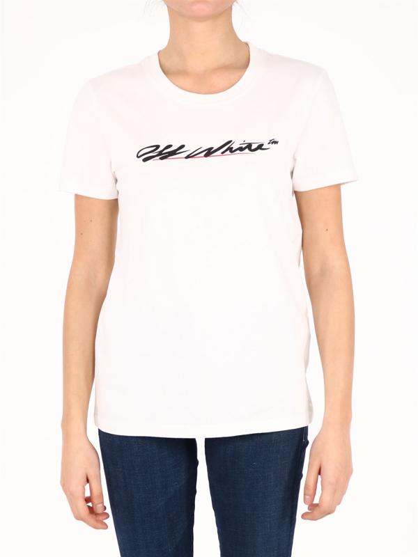 Off-white Logo T-shirt White