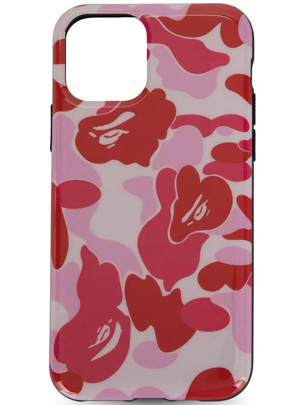 A Bathing Ape Iphone 11 Pro Printed Case In Pink