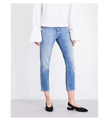 9c869d80b503 J Brand Sadey Mid-Rise Slim-Leg Jeans In Light Denim