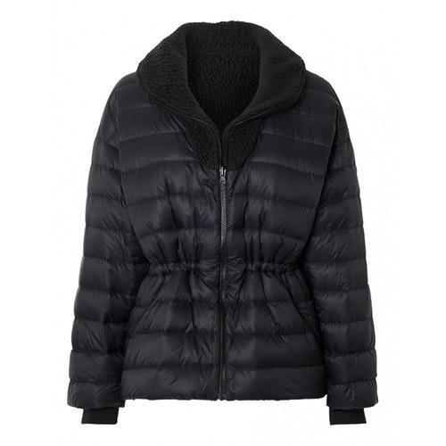 Pre-owned Ienki Ienki Black Coat