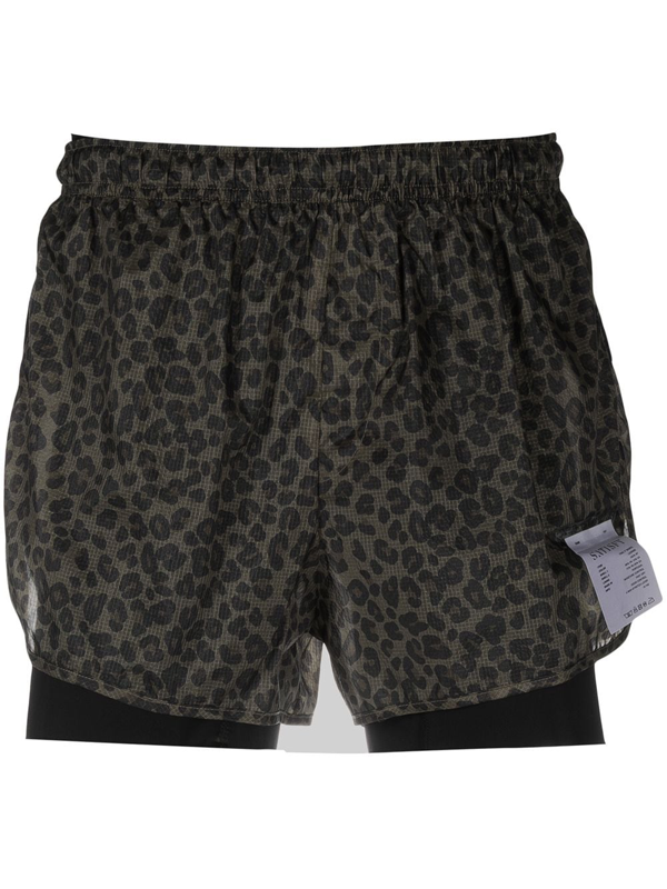 """Satisfy Trail 3"""" Shorts In Green"""