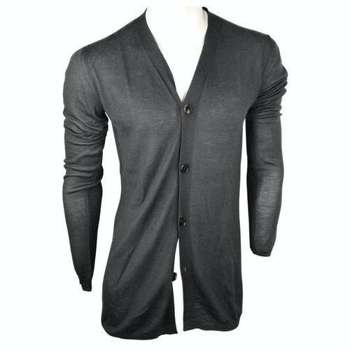 Pre-owned Rick Owens Grey Cashmere Knitwear & Sweatshirts
