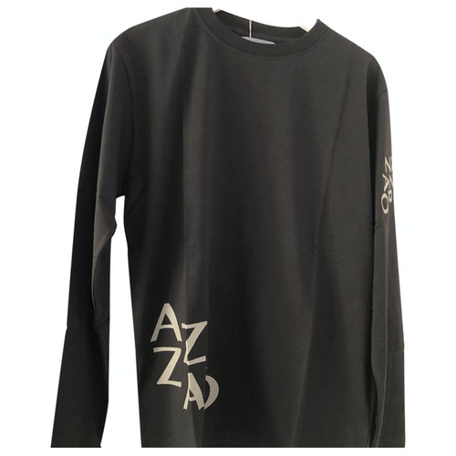 Pre-owned Azzaro Black Cotton T-shirts