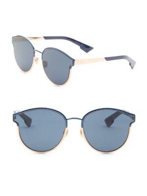 f86c8715a94e Dior Symmetrics 59Mm Cat Eye Sunglasses In Marble Blue