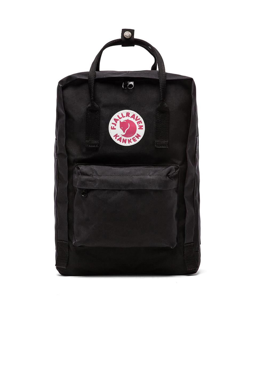 Fjall Raven Fjallraven Kanken 15 Laptop Pack In Black