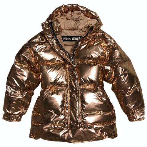Pre-owned Ienki Ienki Gold Jacket