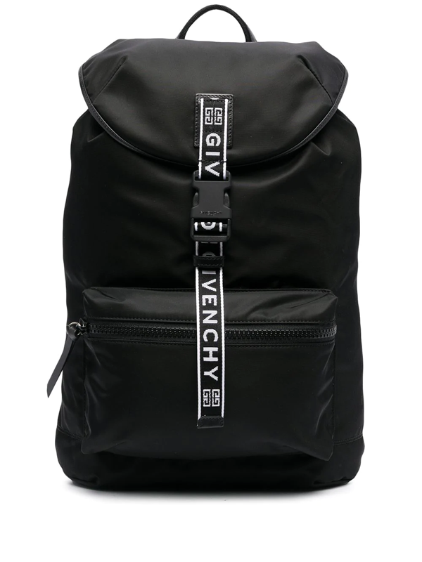 Givenchy 4g Packaway Backpack In Black
