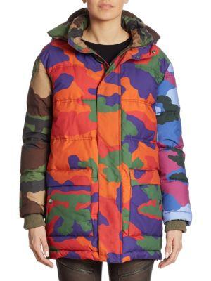 Moschino Camouflage Padded Jacket