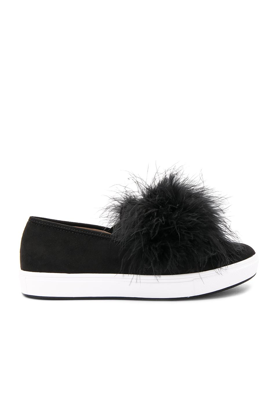 318bb625f6a Style Name  Steve Madden Breeze Faux Fur Pom Sneaker (Women). Style Number   5411779. Available in stores.