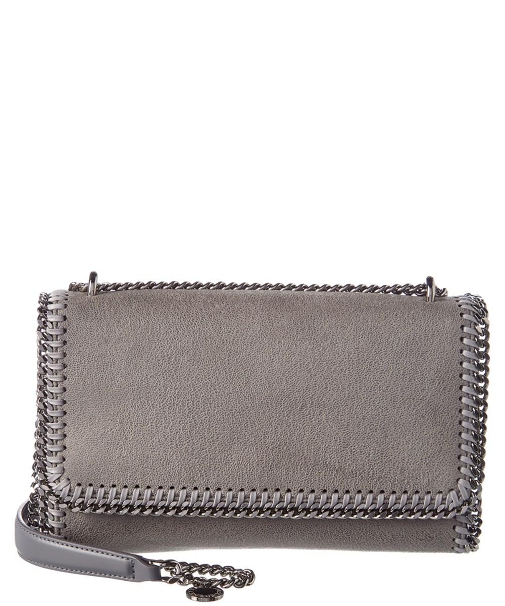768852af679 Stella Mccartney Falabella Shaggy Deer Shoulder Bag In Grey