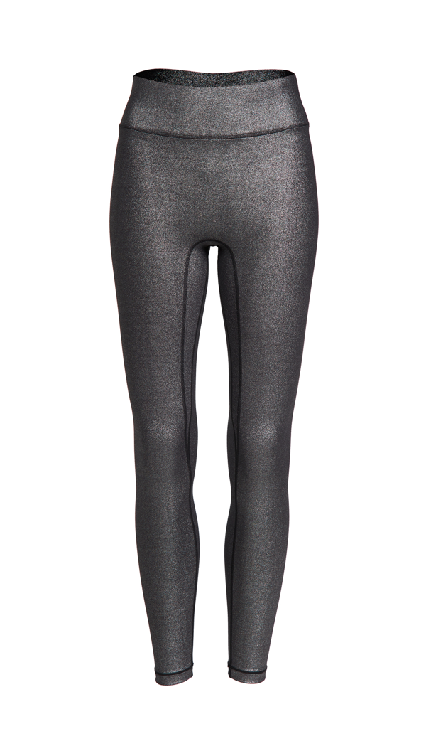 All Access Center Stage Leggings In Silver