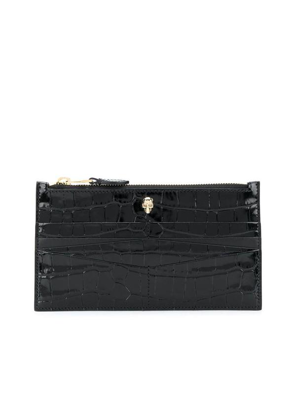 Alexander Mcqueen Wallet In Black