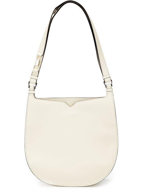Valextra 'weekend Hobo' Shoulder Bag In No Color