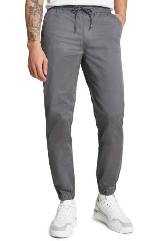 River Island River Isand Big & Tall Skinny Chinos In Gray In Grey