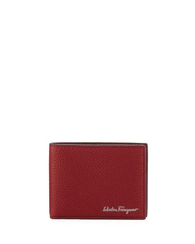 b0561ab8a50f Salvatore Ferragamo Men s Firenze Leather Bi-Fold Wallet