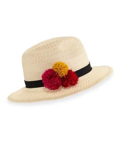 2837eb4c567ca Eugenia Kim Lillian Hemp-Blend Fedora Hat