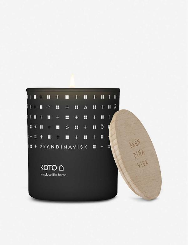 Skandinavisk Koto Lidded Scented Candle 200g