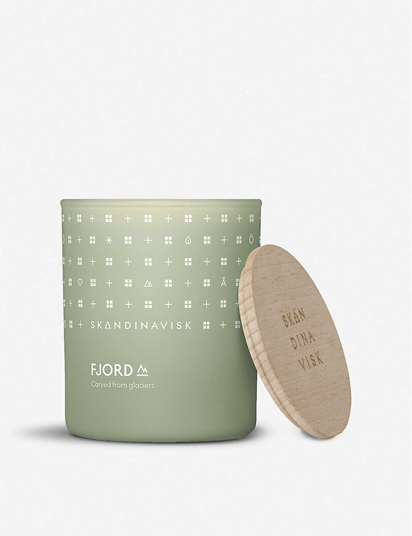 Skandinavisk Fjord Scented Candle With Lid 200g