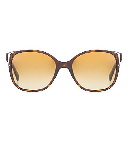 Prada Pr01Os Square Sunglasses In Havana
