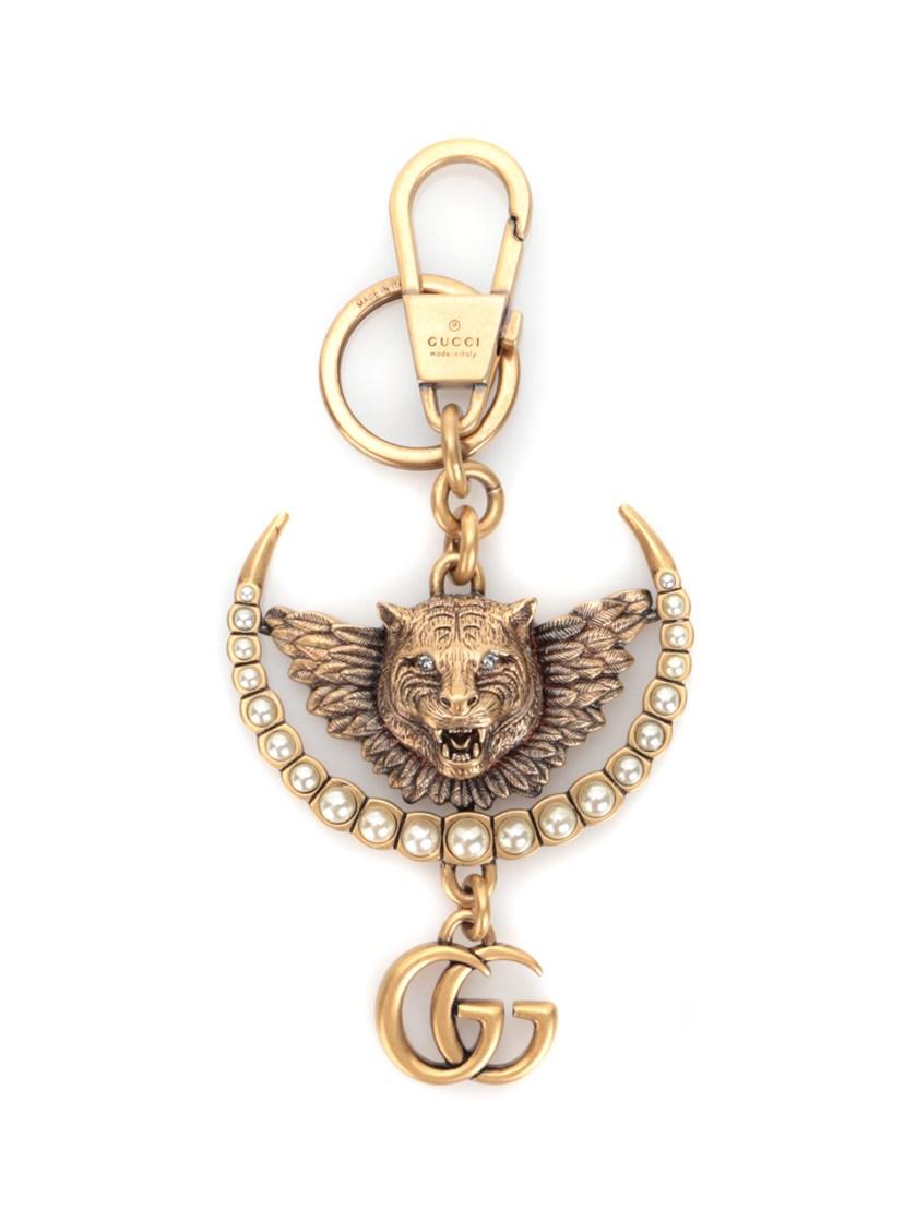 ccfc57a7882 Gucci Tiger Head Keychain
