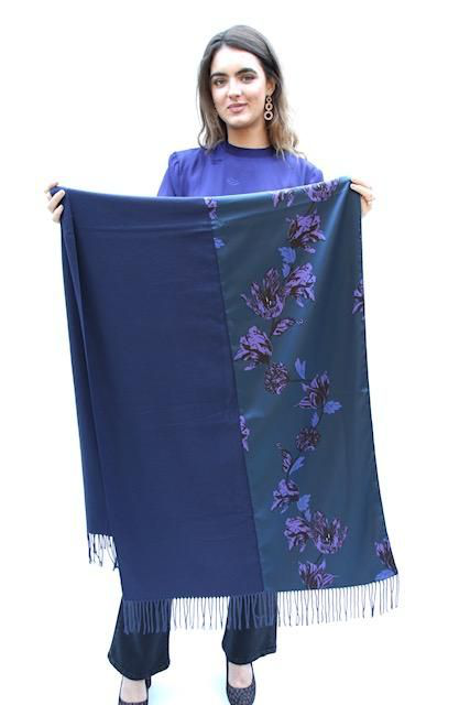 Iblues Katai Scarf In Cornflower Blue