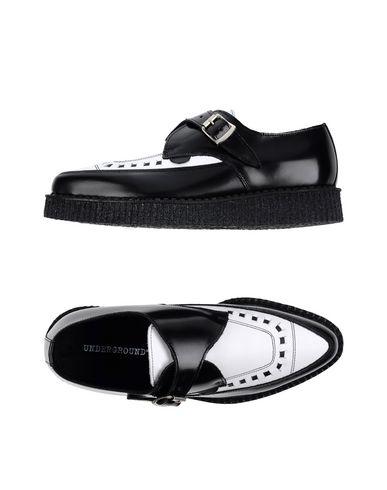 Underground Loafers In Black