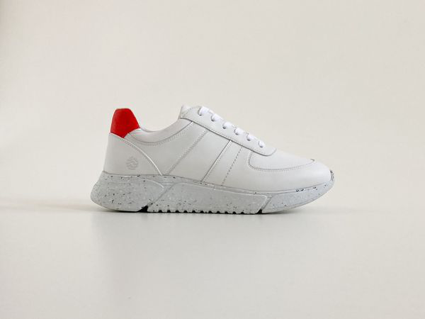 Humans Are Vain Challenge V2 Sustainable Panel Sneaker - White