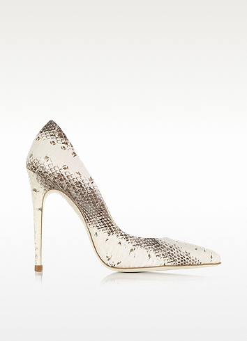 Loriblu Ayers Leather Pump In White