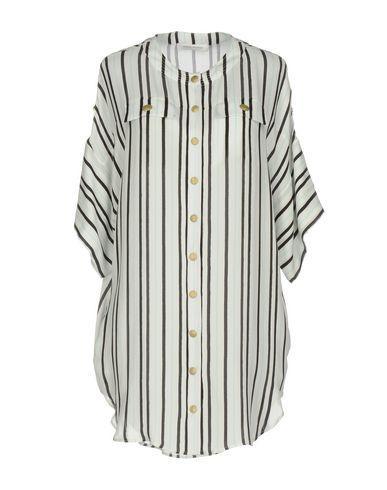 Pierre Balmain Shirt Dress In Ivory