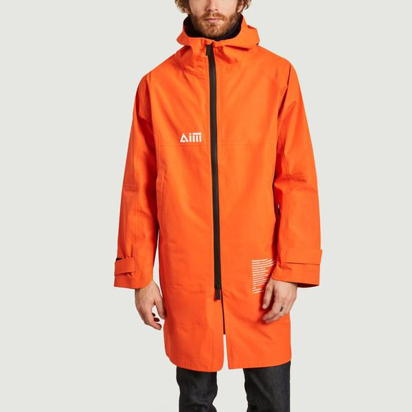 Aim Waterproof Jacket Orange