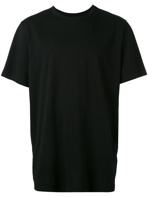 Blood Brother Logo Signature Back T-Shirt In Black