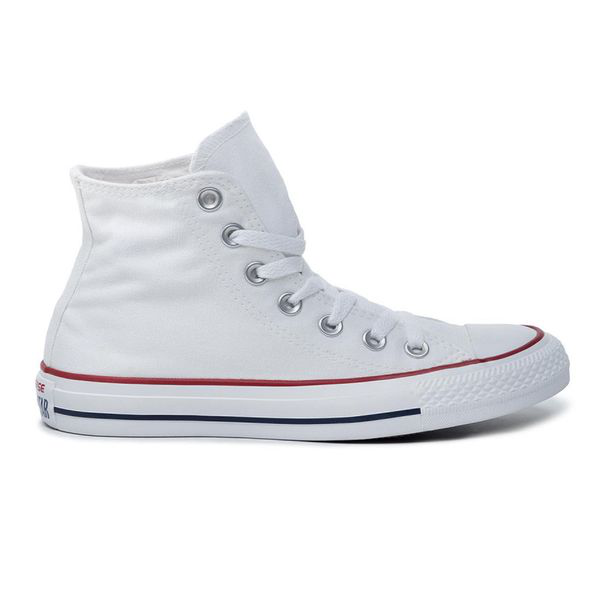 Converse All Star Hi In Optical White/white/white