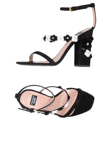 Boutique Moschino Sandals In Black