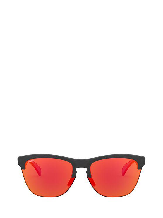 Oakley Women's Oo9374937427 Blue Metal Sunglasses