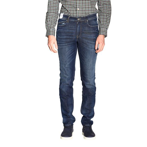 Re-hash 5-pocket Jeans In Blue