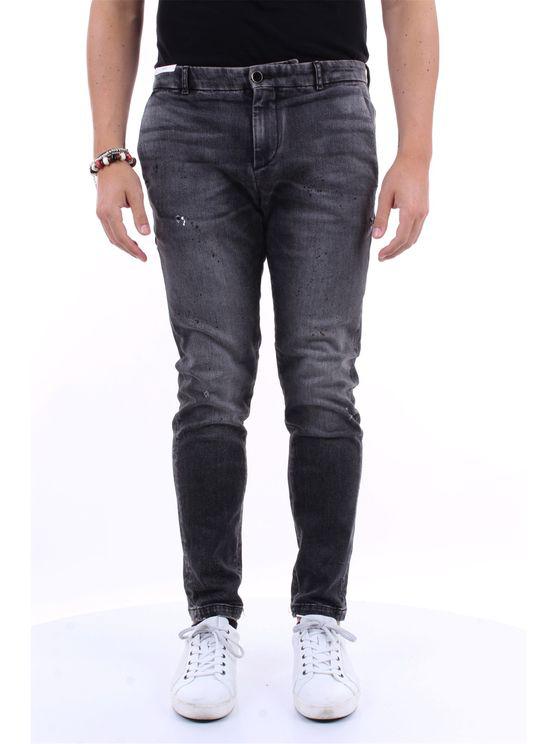 Pt Torino Jeans Straight Men Dark Gray In Grey