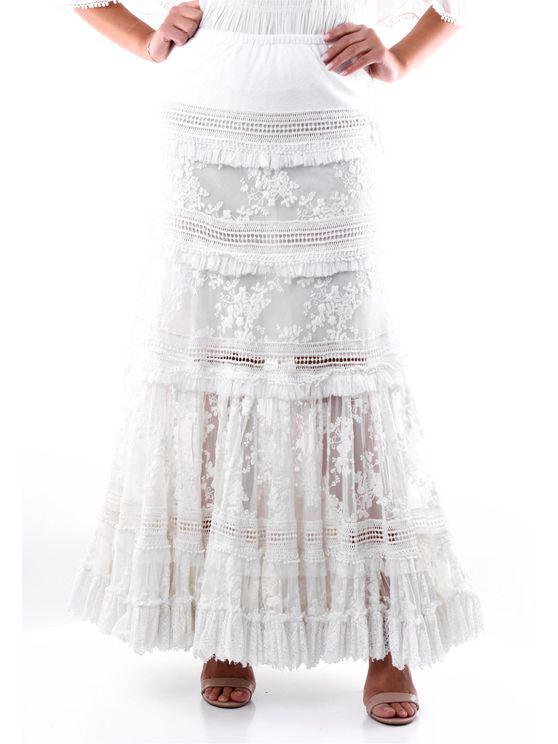 Gado Gado By Margriet Wagenaar Skirts Long Women White
