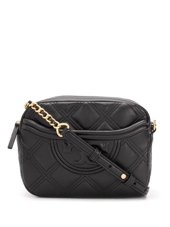 Tory Burch Women's 62091001 Black Leather Shoulder Bag