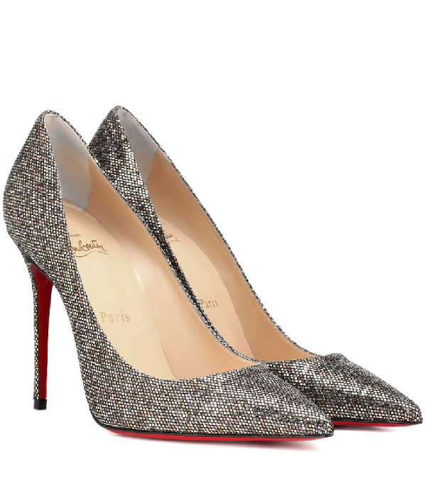 7df32cb07844 Christian Louboutin Pigalle Follies 100Mm Red Sole Pump