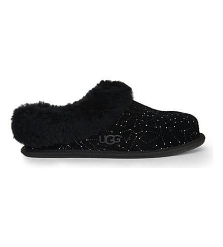 26cc13210da Moraene Constellation Swarovski-Crystal Slippers in Black