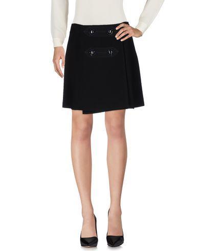 Miu Miu Knee Length Skirts In Black
